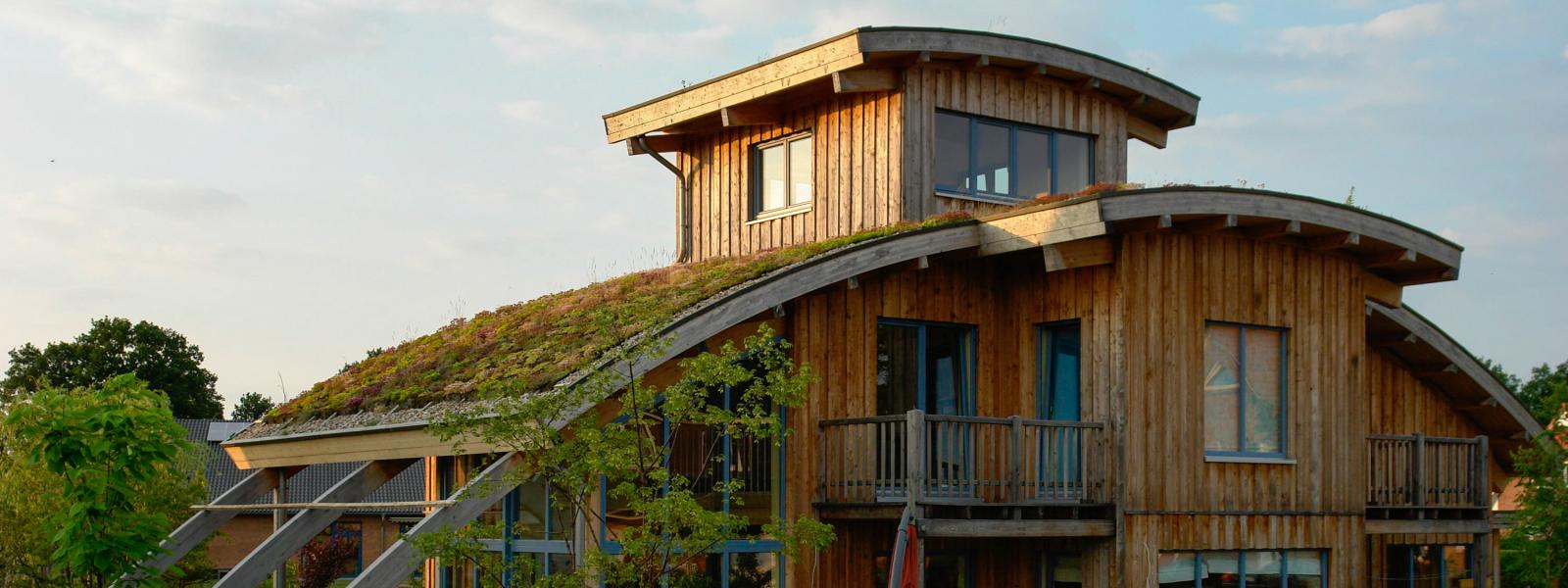 Mehr Lebensqualität dank grünem Dach.